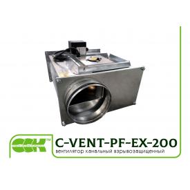 Вентилятор взрывозащищенный для круглых каналов C-VENT-PF-EX-200-4-380