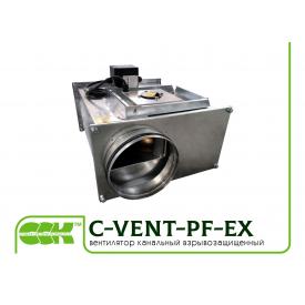 Вентилятор канальный для круглых каналов взрывозащищенный C-VENT-PF-EX-400-6-380