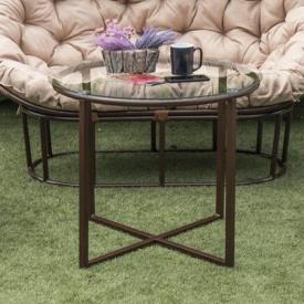 Стеклянный стол Кингстон
