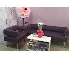 Офисный диван Тонус Sentenzo 1400х600 мм комплект с креслом