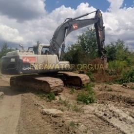 Аренда гусеничного экскаватора VOLVO EC 240BNLC 1,5 м3