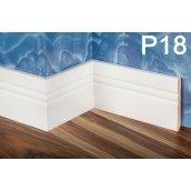 Плінтус PlintMart МДФ 110х12 білий Р18