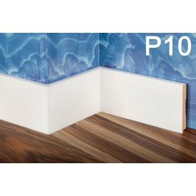 Плінтус PlintMart МДФ 100х12 білий Р10