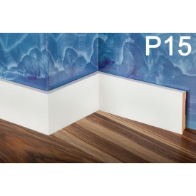 Плінтус PlintMart МДФ 80х12 білий Р15