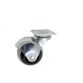 Ролик 50 мм резиновый TPR 50 полосатый круглый