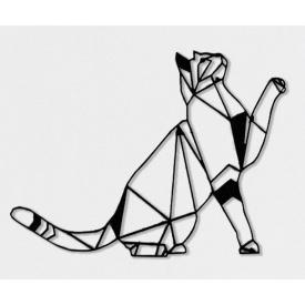 Геометричний настінний декор Кіт SO decor акрил (018)