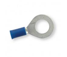 Клемма обжимная изолированная кольцевая Berner синяя 10,5 мм
