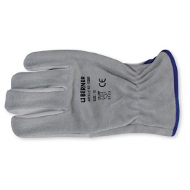 Розділена шкіра рукавичка Nappa Berner