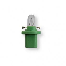 Лампа 12V 2W B8,5d зеленый 1 шт