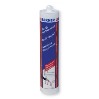 Акриловый герметик Универсальный 310 мл белый Berner