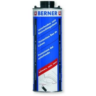 Антикоррозионное покрытие для защиты днища кузова черное Berner 1000 мл