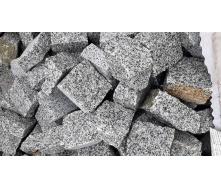 Бруківка гранітна колота Покост 10x10x5 см
