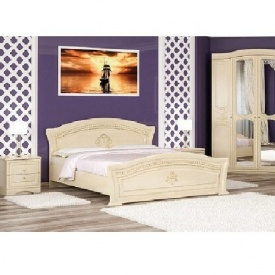 Кровать Мебель-Сервис Милано 185х105х206 см береза