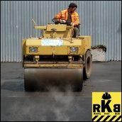 Асфальтирование дорожного покрытия
