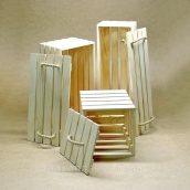 Ящик для зберігання Adirondak Маямі 20х50х50 см