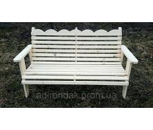 Садовая скамейка для отдыха Adirondack 1500х500х500 мм