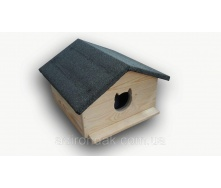 Утепленная будка для котов Adirondak 500х500х410 мм