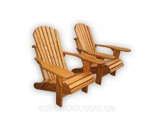 Кресло складное из дерева Адирондак 480х550х1000 мм