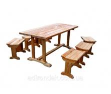 Стол с табуретками Adirondak П3 1,8 м