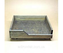 Лежак деревянный для собаки Морион 165х640х540 мм