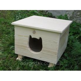 Будка для кота Adirondak 490х490х380 мм