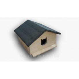 Утеплена будка для котів Adirondak 500х500х410 мм