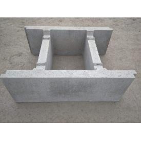 Блок опалубки 510х390х190 мм серая