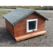 Будиночок для котиків 50х50 см утеплений