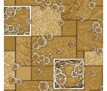 Домашний бежевый ковролин Камила войлочный цветной 3000