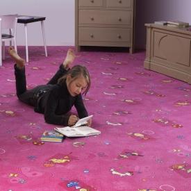 Дитячий килим для дівчинки Хепі 447