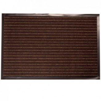 Придверний килимок на гумовій основі з окантовкою Condor Entree 40х60 коричневий