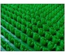 Рулонне брудозахисне вхідне щетинисте пластикове покриття 12х900х15000 мм зелене