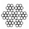 Канат стальной оцинк 2,5мм DIN 3055 6x7+1х7+м с