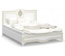 Ліжко Меблі-Сервіс Мілан 205х164х109 см біла