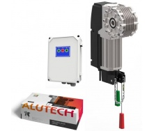 Автоматика Alutech Targo для промислових воріт 42 м2 750 кг IP65 (TR-13018-400KIT)