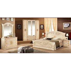 Спальня Мебель-Сервис Рома 4д клён