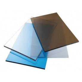 Монолітний полікарбонат ТМ SOTON 4мм 2050х6100мм бронзовий