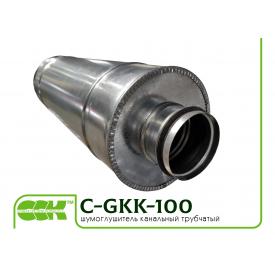 Шумоглушник вентиляційний трубчастий C-GKK-100-900