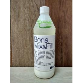 Шпаклівка для паркету Bona Mix&Fill на акриловій основі 1л