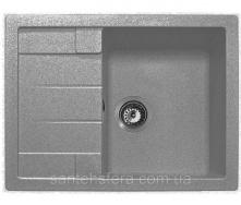 Кухонна гранітна мийка ADAMANT ANILA 650x500x200 мм сіра