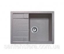Кухонна гранітна мийка ADAMANT ANILA 650x500x200 мм Старий камінь
