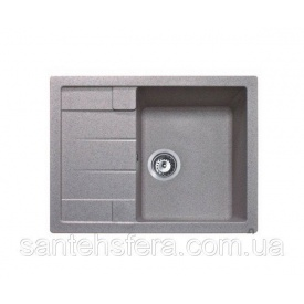 Кухонная гранитная мойка ADAMANT ANILA 650x500x200 мм Старый камень