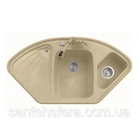 Гранитная кухонная мойка ADAMANT CONSENSUS 1060x575x190 мм Старый камень