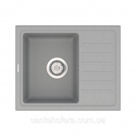 Кухонная мойка VANKOR Lira LMP 02.55 Gray