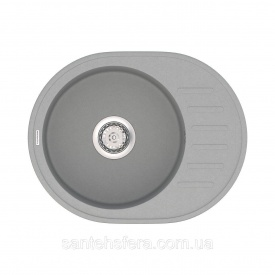 Кухонная мойка VANKOR Lira LMO 02.57 Gray