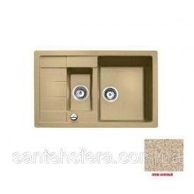 Гранитная кухонная мойка ADAMANT ANILA PLUS 780x500x200 мм Авена