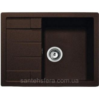 Кухонна гранітна мийка ADAMANT ANILA 650x500x200 мм коричнева