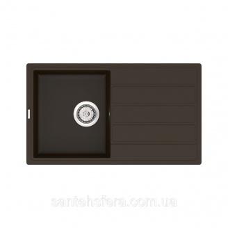Кухонна мийка VANKOR Easy EMP 02.76 Chokolate