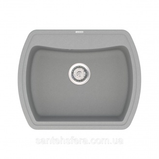 Кварцова кухонна мийка VANKOR Norton NMP 01.63 Gray