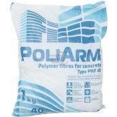 Фібра Poliarm 40 мм 1 мм 1 кг